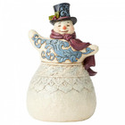 Jim Shore's Heartwood Creek Frosty Formailty (Victorian Snowman with Top Hat Figurine)