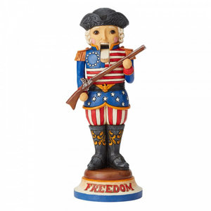 "Jim Shore's Heartwood Creek American Nutcracker ""Freedom First And Foremost"""