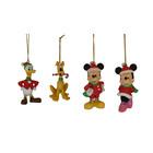 Disney Kurt S. Adler Mickey and Friends (HO)  Set/4