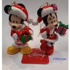 Disney Kurt S. Adler Mickey & Minnie (HO)  Set/2