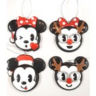 Disney Kurt S. Adler Mickey & Minnie Claydough (HO)  Set/4