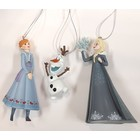 Disney Kurt S. Adler Frozen Hanging Ornament (HO)  Set/3