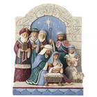 Jim Shore's Heartwood Creek Unto Us A King Is Born (Holy Family Figurine)