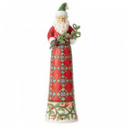Jim Shore's Heartwood Creek Making Spirits Splendid (Tall Santa with Branch)