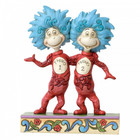 Dr. Seuss by Jim Shore Thing 1 and Thing 2
