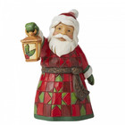 Jim Shore's Heartwood Creek Santa with Lantern (Mini)