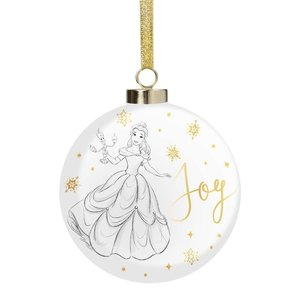 Disney Magical Moments Belle  Collectable Luxury Ceramic Bauble