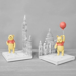 Disney Traditions Christoper Robin Resin Winnie The Pooh Bookends