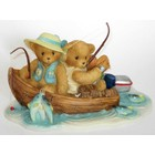 "Cherished Teddies Fran & Hank ""You're a perfect Catch"""