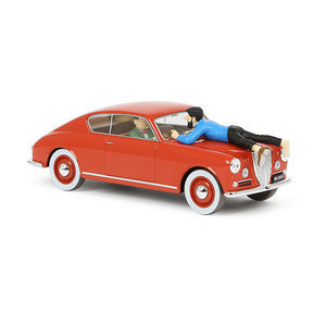 Tintin (Kuifje) The Lancia Aurelia (1/24)