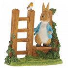 Peter Rabbit (Beatrix Potter) by Border Peter Rabbit on Wooden Stile