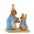 Peter Rabbit (Beatrix Potter) by Border Mrs. Rabbit, Flopsy & Peter Rabbit