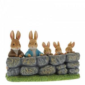 Beatrix Potter / Peter Rabbit Benjamin, Peter, Flopsy, Mopsy and Cotton-Tail (MOF)