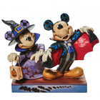 Disney Traditions Mickey and Minnie as a Vampire