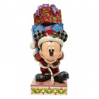 Disney Traditions Mickey Carrying Gifts