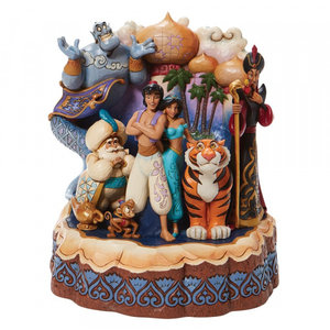"""Disney Traditions Aladdin """"Carved by Heart"""""""