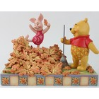 Disney Traditions Piglet and Pooh Autum Leaves