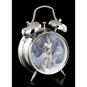 Anne Stokes Winter Guardian (Alarm Clock)
