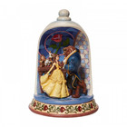 Disney Traditions Beauty and the Beast Diorama Dome