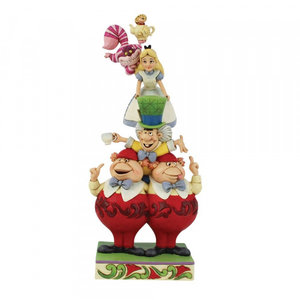 """Disney Traditions  Alice in Wonderland  """"Stacked"""""""