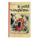 "Tintin (Kuifje) Notitieboekje Petit Vingtième "" Rode racewagen""  (SMALL)"