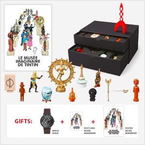 Tintin (Kuifje) Musée Imaginaire de Tintin LTD Box (2021)