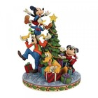 Disney Traditions FAB 5 Decorating The Tree