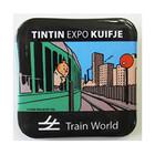 "Tintin (Kuifje) Badge Tintin Expo ""TINTIN TRAIN WORLD"""