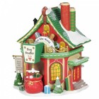 Disney Department56 Saint Nick's Gift Sorting Centre-  European Version