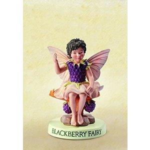 Flower Fairies Braam Fairy (on Base)