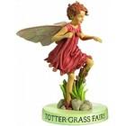 Flower Fairies Het Trilgras Fairy  (on Base)
