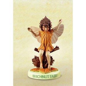 Flower Fairies Beuk Fairy  (on Base)