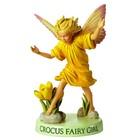 Flower Fairies Krokus Fairy - Meisje (on Base)