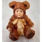 Anne Geddes Teddybear Baby (with bow)