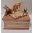 Disney Michel & Company  Musical Pooh Book-Juwelrybox