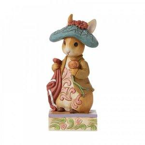 "Peter Rabbit (Beatrix Potter)  By Jim Shore Benjamin Bunny ""Nibble, Nibble, Crunch"""