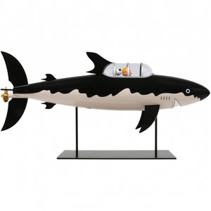 Tintin (Kuifje) Kuifje en Bobby  in 'Submarine Shark' (77.0 cm - 2021)