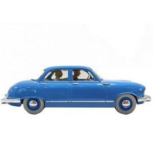 Tintin (Kuifje) The Panhard Dyna Z Taxi (1/24)