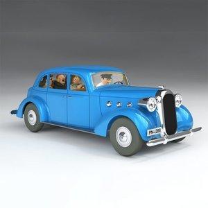 Tintin (Kuifje) De Auto van Castafiore (1/24)