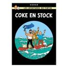 Tintin (Kuifje) Poster Tintin – Coke en stock (FR)