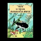 Tintin (Kuifje) Postkaart 080 Cover Rackham