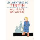 Tintin (Kuifje) Poster Soviets Tintin (FR)