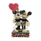 """Disney Traditions Mickey and Minnie Heart """"Love is in the Air"""""""