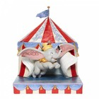 """Disney Traditions Dumbo """"Over the Big Top"""""""