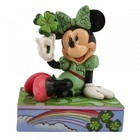 Disney Traditions St. Patrick's  Minnie Mouse (Personality Pose)