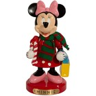 Disney Kurt S. Adler Minnie Mouse with Candy Cane Nutracker