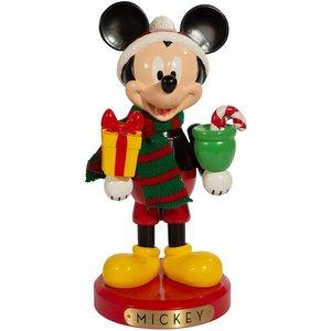 Disney Kurt S. Adler Mickey Mouse With Present Nutcracker