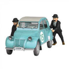 Tintin (Kuifje) De 2CV Rallye (1/24)
