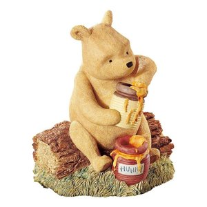 Classic Pooh (BO) Pooh Money Bank (Knitted)