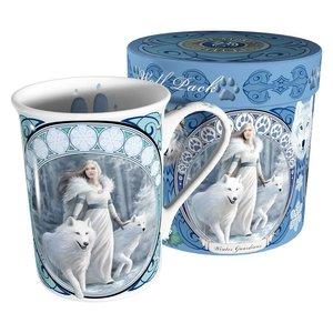 Anne Stokes Winter Guardians Mug
